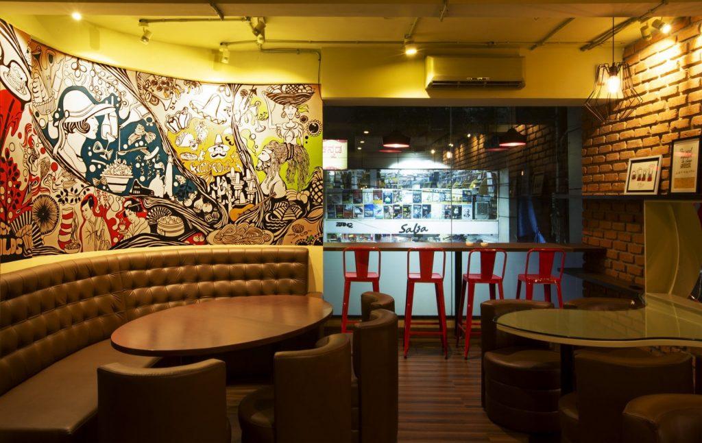 Red Bar seating1-min